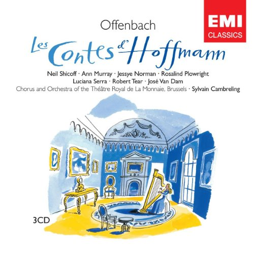 Les Contes d'Hoffmann, Act III: Mon enfant! ma fille! Antonia! (Finale) (Crespel, Antonia, Hoffmann, Nicklausse, Miracle)