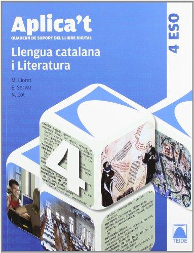 Aplica't. Quadern de suport del llibre digital. Llengua catalana 4t ESO - 9788430789443