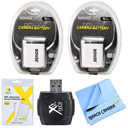 Essential NB6LH Battery Bundle for Canon Powershot SX520 SX710 SX700 S120 SX600 SX530 SX610 Cameras includes 2 NB6LH Camera Batteries LCD Screen Protector 3 Pack and Micro Fiber Cloth  available at amazon for Rs.2674