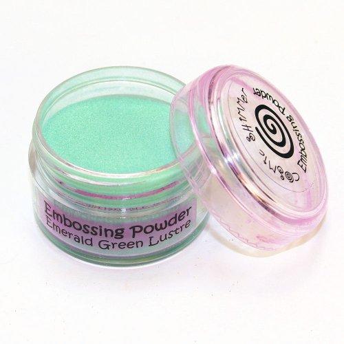 Unbekannt Cosmic Glitter/Embossingpulver, schimmernd, glänzend, Smaragdgrün (Pulver Emboss)