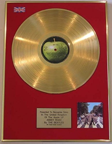 The Beatles-LP disco d' oro 24carati-Abbey Road