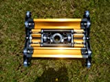 Powerfulpool MK2014WBX Scopa Aspirafango per Pulizia Piscina, Giallo/Nero, 32.5x36x7 cm