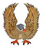 Adler Eagle Backpatch Rückenaufnäher Biker Weste Kleidung Kutte ca. 25 x 28 cm