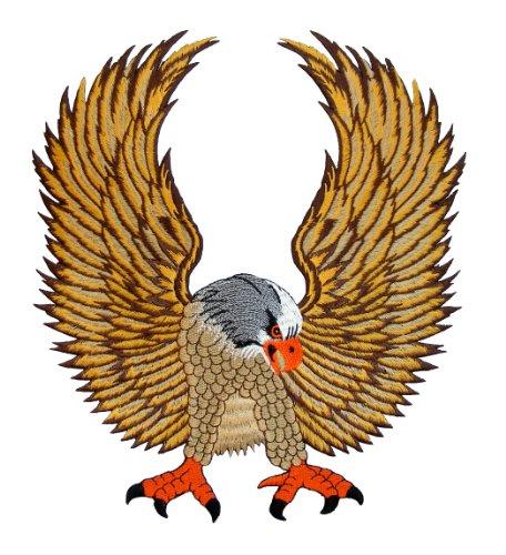 Parche de águila para chaleco motero, 25x 28cm