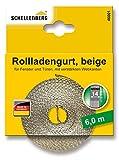 Schellenberg 46101 - Cinta de persiana (14 mm de ancho, 6 m) color beige