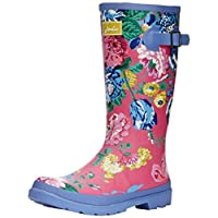 Joules Girls Printed Welly