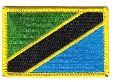 Flaggen Aufnäher Patch Tansania Fahne Flagge - Tansania Patch
