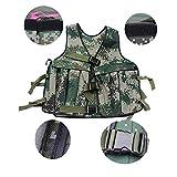 Yosoo 20KG/44lbs Verstellbare Camouflage Gewichtsweste Weight Vest Trainingsweste Training Workout Fitness Sport Jacket - 2