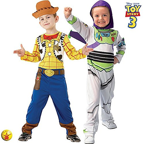 Generique - Toy Story Buzz Lightyear und Woody-Kostüm -