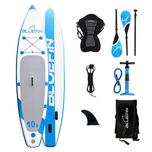 Bluefin Tabla de Paddle Surf Hinchable Híbrida Convertible en Kayak c