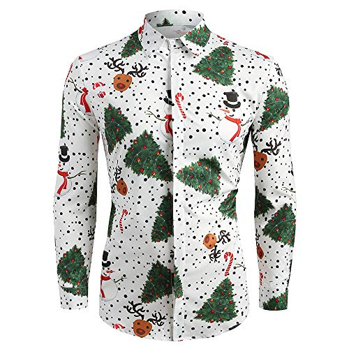 CharMma Camisa Mangas Largas Hombre M/L/XL/2XL/3XL