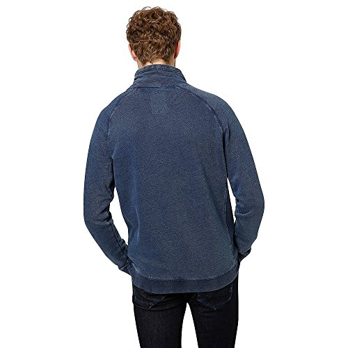 Sweat TOM TAILOR DENIM Real indigo Bleu
