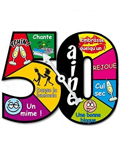 Roulette jeu d'anniversaire 50 ans 3700276288665