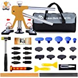 Manelord 33-teilig Auto Dellen Reparaturset, Auto Paintless Dent Removal Kit,Golden Lifter für...