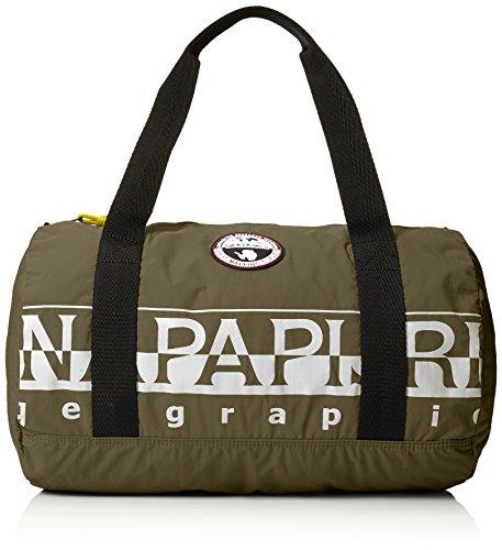 Napapijri Bags Sac de Sport Grand Format, 41 cm, 26.5 liters, Vert (Khaki)