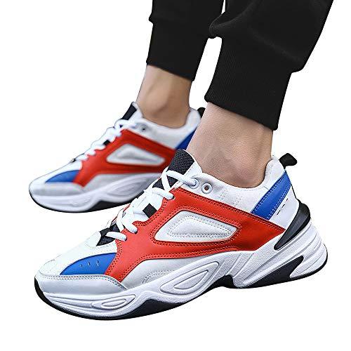 Yanhoo-scarpe scarpe da corsa uomo sportive,sneakers uomo elegante,stivali da equitazione, corsa per uomo outdoor walking sneakers scarpe comode da atletica per uomo sport