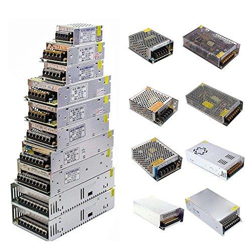 Supmico Universal 24V 20A 480W Schaltnetzteil Treiber für LED Streifen Trafo Transformator Adapter Energieversorgung 24 Volt 20 Amp