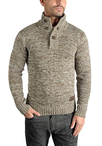 SOLID Philario - Pull en Maille - Homme Dune (5409)