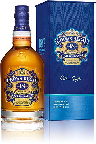 Chivas Regal 18 Años Gold Signature Blended Scotch Whisky - 750 ml