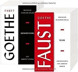Faust: Zwei Teilbände. Texte und Kommentare (Deutscher Klassiker Verlag im Taschenbuch)
