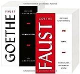 Faust: Zwei Teilbände. Texte und Kommentare (Deutscher Klassiker Verlag im Taschenbuch) - Johann Wolfgang Goethe