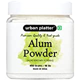 #4: Urban Platter Alum Powder, 450g [Premium Quality & Food-Grade, Also Known Fitkari]