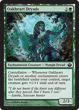 Preisvergleich Produktbild Magic: the Gathering - Oakheart Dryads (133/165) - Journey into Nyx by Magic: the Gathering