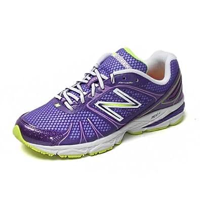 Women's New Balance Running 770 V4 Purple/White/Neon Size