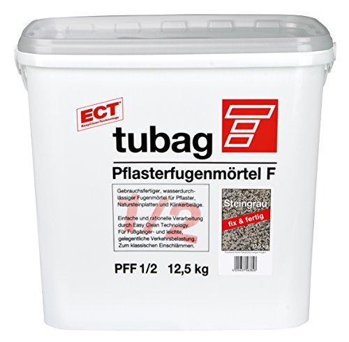 Tubag Pflasterfugenmörtel F PFF (12,5 kg, Steingrau)