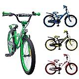 AMIGO - BMX Turbo - Bicicletta Bambini - 20'' (per 5-9 Anni) - Verde