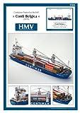 #3: HMV 3366 Papermodel Container Ship Conti Belgica