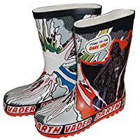 Boys Wellies Star Wars Darth Vader EX UK Store Wellington Boots