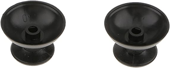 Segolike 2x ABS Analog Grip Thumbstick Joystick Button Cover For Sony PS3 Controller