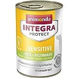 Animonda Integra Protect Sensitive mit Pute und Pastinaken, Diät Hundefutter, Nassfutter Bei Futtermittelallergie (6 x 400 g)