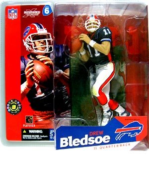 Drew Jersey (NFL Series 6 - 15cm Figur - Drew Bledsoe)