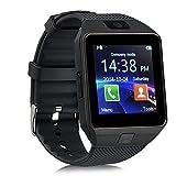 LCLrute Mode Hohe Qualität 1PC Bluetooth intelligente Uhr DZ09 GSM Smartwatch für Android Phone (Schwarz)