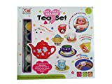 Shopaholic Paint Your Own Ceramic Tea Set For Creative Minds- 1408-A