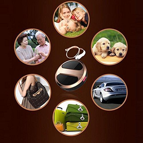 Mini Localizador GPS GSM GPRS control desde smartphone con boton SOS seguimiento anti-perrdida localización y llamada para niños mayores enfermos mascotas coches via app