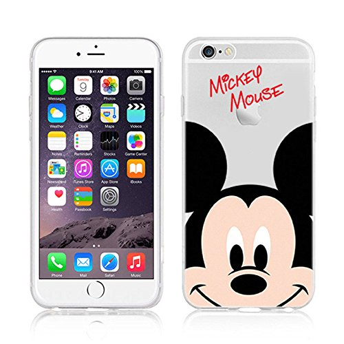 Disney Winnie Mickey Daisy & Donald Duck Clear TPU Soft Case For Apple iPhone 7 WINNIE THE POOH MICKEY MOUSE