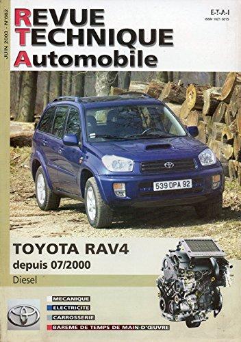 revue-technique-automobile-n-662-toyota-rav4-rav-4-diesel-115-d-4d-depuis-07-2000