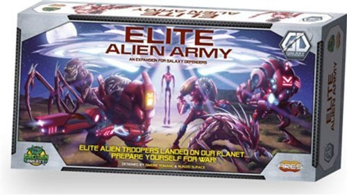 Galaxy Defenders Expansion: Elite Alien Army by Aries Games (Brettspiele Expansion)