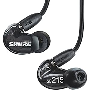 Shure SE215 In-Ear Sound Isolating Earphones - Clear
