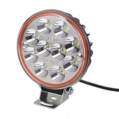 GRFH 40W Elektrische Auto Glühbirne Motorrad LED Scheinwerfer Ultra-Bright Lights Modified Light Externe 12V ~ 80V Allzweck Bestrahlung Reichweite 200M Runde 6500k