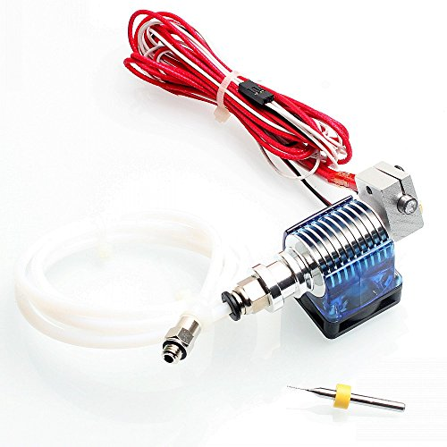 Dikavs e3d v6 hot end kit completo 1.75 mm 12 v bowden/reprap 3d estrusore stampante parti accessori 0.4 mm ugello