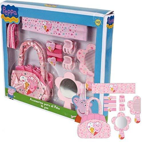 Peppa Pig - Set Bolso y Accesorios Pelo