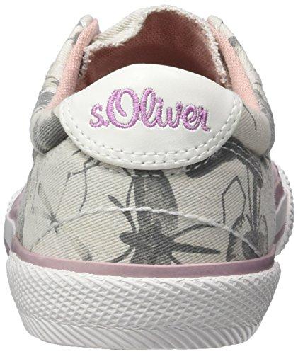 s.Oliver 43211, Sneakers Basses Garçon Gris (LT GREY COMB 295)