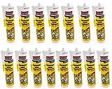 Soudal - 15 x Acryl Dichtmasse weiß 310ml Dichtstoff Kartuschen Maleracryl Bauacryl Malerbedarf