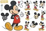 Wandaufkleber Minnie und Micky Maus, Kinderzimmer-Dekoration