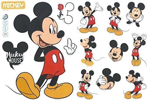 (Wandaufkleber Minnie und Micky Maus, Kinderzimmer-Dekoration)
