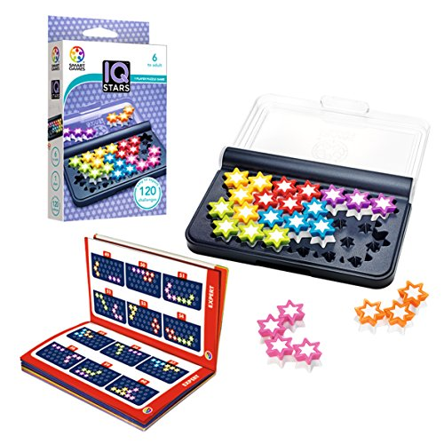 Smart Games- IQ Stars, Multicolor (SG411)